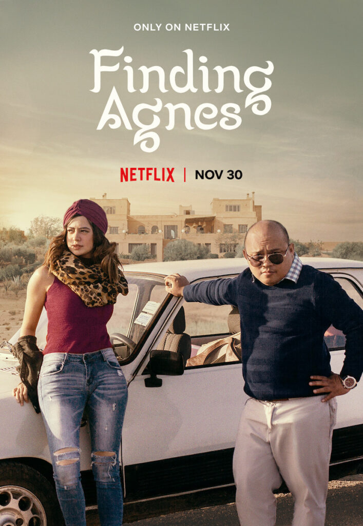 "Netflix has released the trailer for ""Finding Agnes"", which is directed by Marla Ancheta and stars Sue Ramirez and Jelson Bay. Image credit: Netflix"