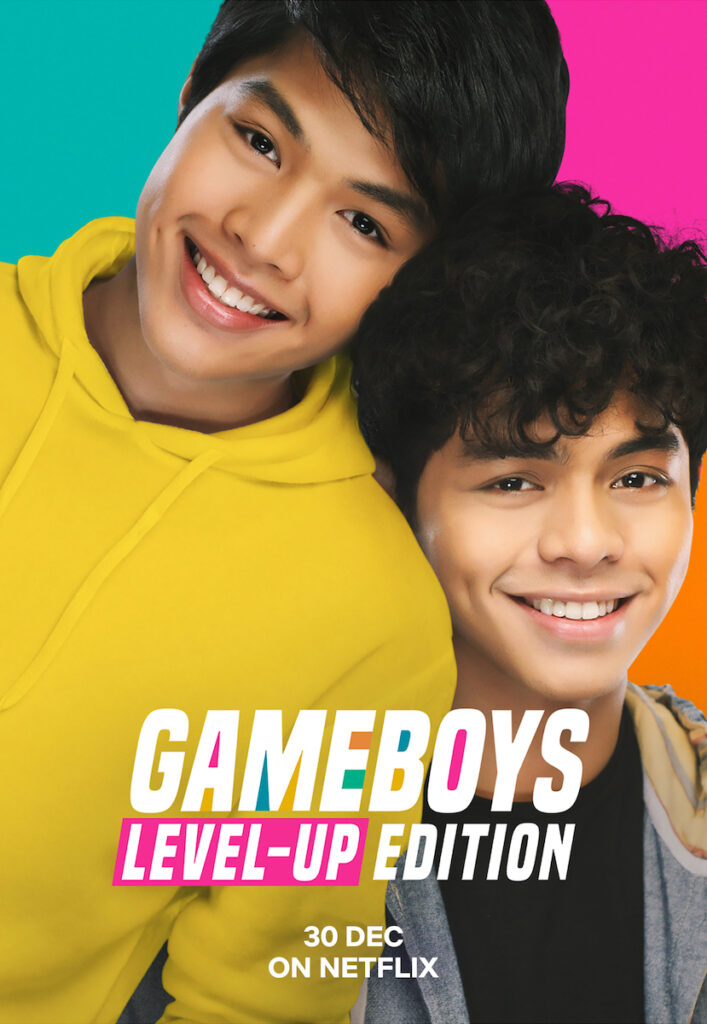 "Prepare for more kilig moments, because Netflix is releasing ""Gameboys"" as ""Gameboys Level-Up Edition"", featuring never-seen-before scenes. Image credit: Netflix"