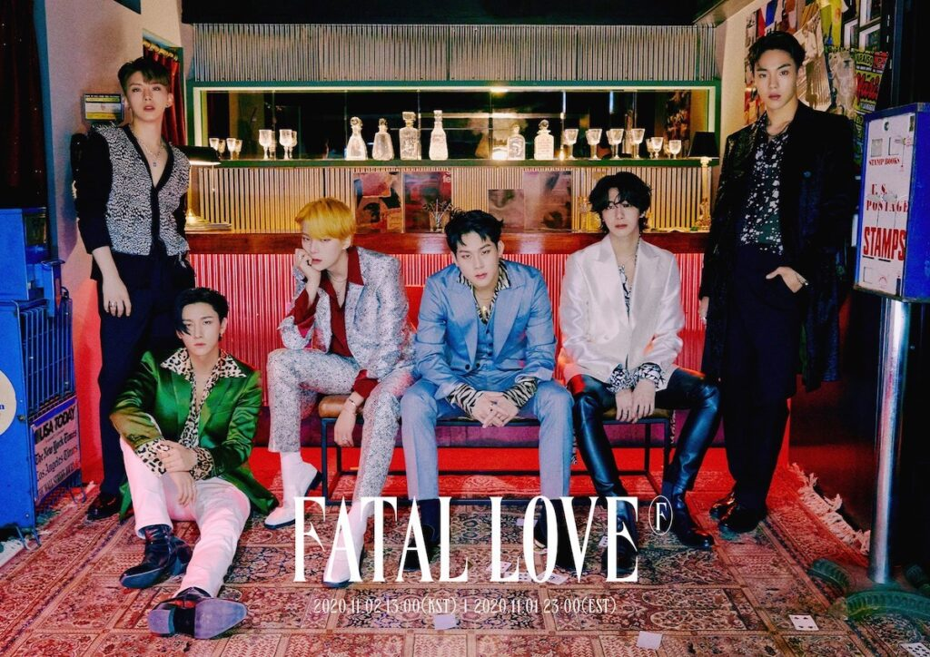 "MONSTA X is back with their third full album ""Fatal Love"" and the music video of the title track ""Love Killa"". Prepare to fall in love again. Image credit: Starship Entertainment"