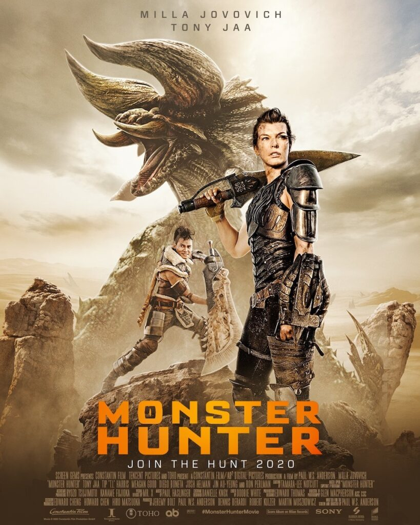 What do Monster Hunter game creators Tsujimoto Ryozo and Fujioka Kaname think about the upcoming movie version from writer-director Paul W.S. Anderson? Image credit: Columbia Pictures Philippines