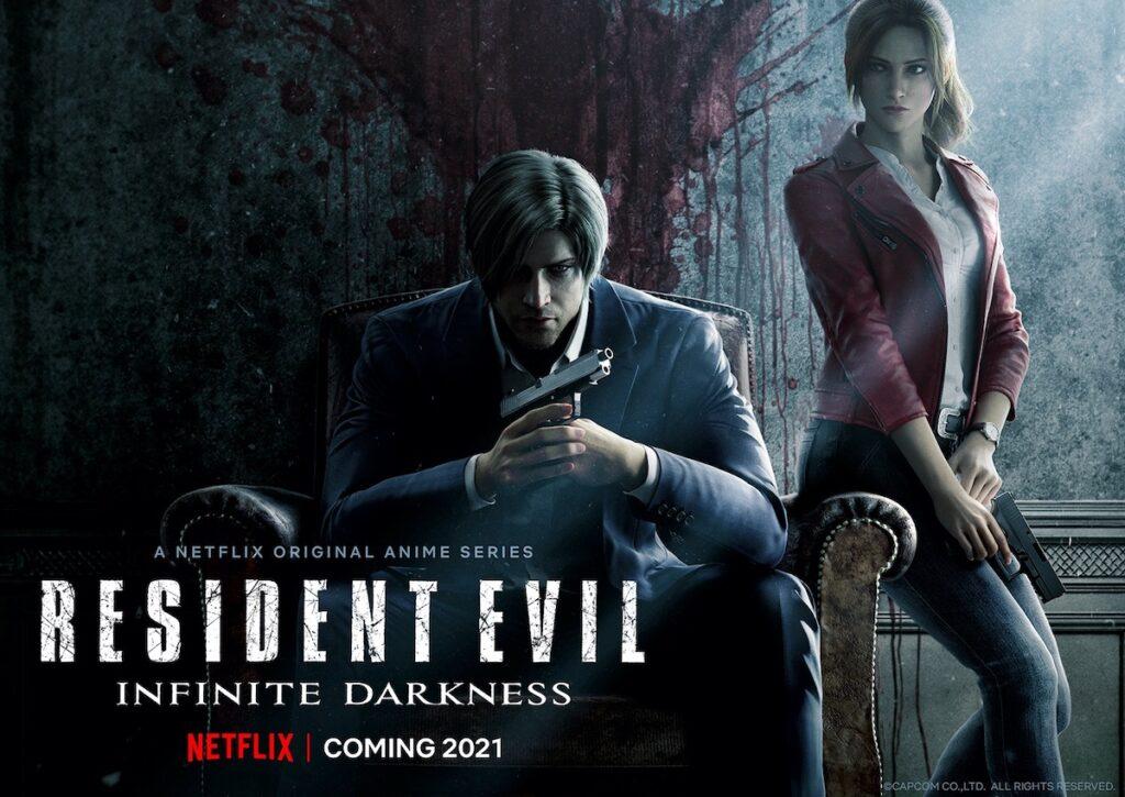 Image credit: Key art from 'Resident Evil: Infinite Darkness'. Photo courtesy of Netflix.