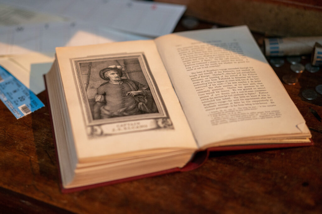 Magellan's Book in 'Uncharted'. Image credit: Columbia Pictures Philippines