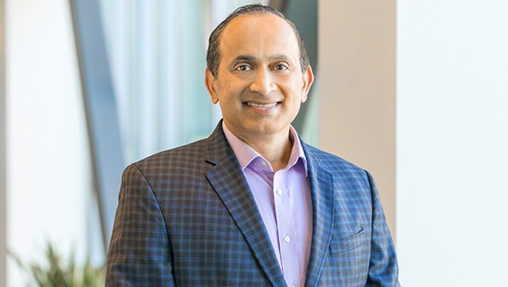 VMware COO Sanjay Poonen understands that our world has changed. Image credit: VMware