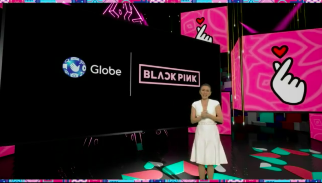 Issa Litton hosted this year's digital Wonderful World of Globe. Image credit: Screenshot of WWG livestream.