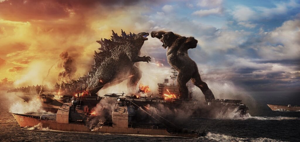 """I love Godzilla. So I'm really hoping that """"Godzilla vs. Kong"""" won't make the King of the Monsters job to King Kong again. Image credit: Warner Bros. Pictures and Legendary Pictures"""