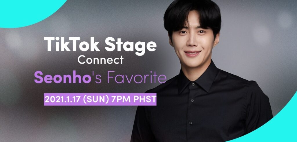 "Actor Kim Seon Ho, who played Han Ji Pyeong on the K-drama ""Start-Up"", is holding his first global online fan meet exclusively on TikTok. Image credit: TikTok"