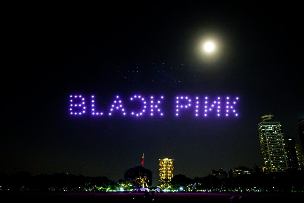 BLACKPINK: THE SHOW, BLACKPINK's first livestream concert held on Jan. 31, has proven that they are the Apple of K-pop girl groups. Image credit: Globe Telecom