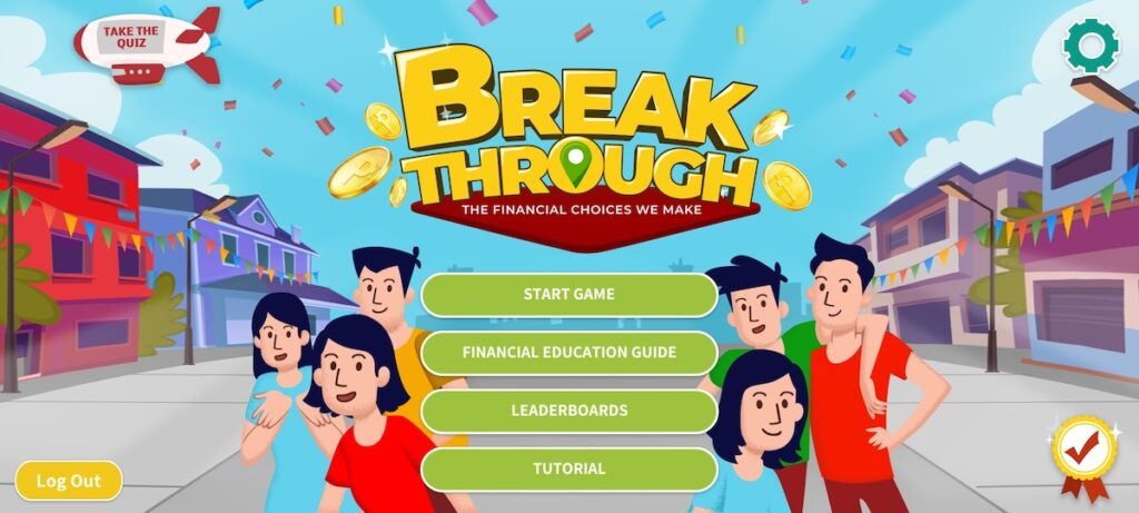 Who says financial education has to be boring? Adulting can be fun when you play BPI Foundation's Breakthrough mobile game. Image credit: BPI Foundation