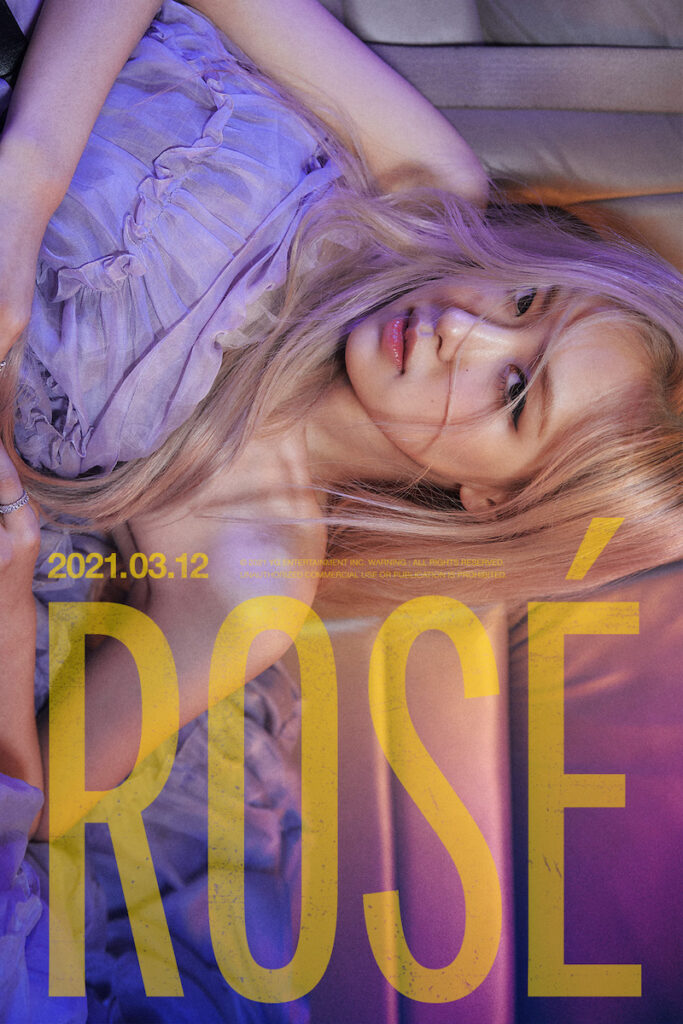 The long wait is almost over for fans of BLACKPINK main vocalist Roseanne Park (Korean name: Park Chaeyoung), more popularly known as Rosé. Image credit: YG Entertainment