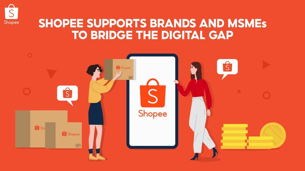 With the Department of Trade and Industry (DTI) recently updating its ecommerce roadmap, the integral role of online platforms such as Shopee has been underscored. Image credit: Shopee