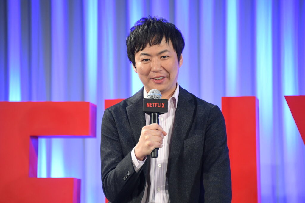 AnimeJapan 2021: Taiki Sakurai, Netflix, Chief Producer, Anime, says Netflix is committed to becoming a home for fans and creators around the world. Image credit: Netflix