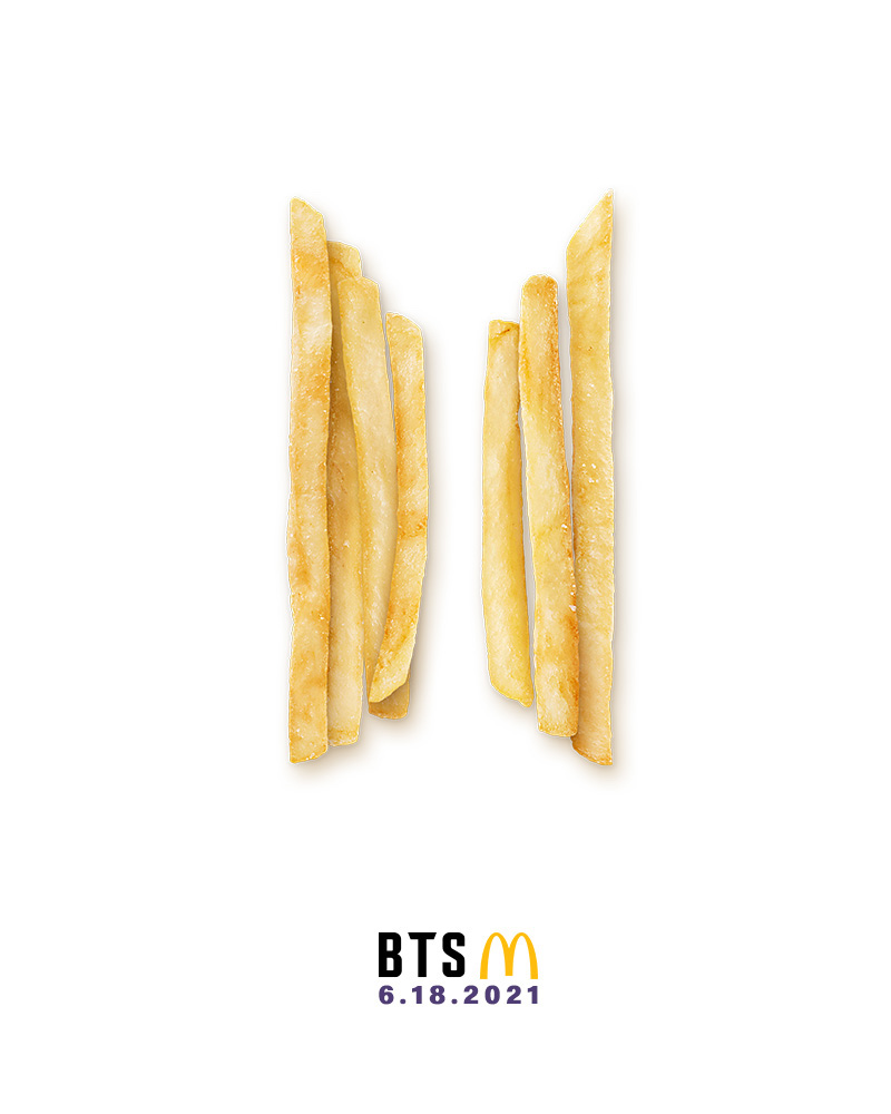 With the BTS Meal, you can have fries with your K-pop. Image credit: McDonald's Philippines