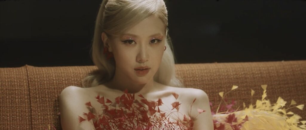 "The ""Gone"" MV is out, and it's a stunning showcase of the beautiful vocals and visuals of BLACKPINK main vocalist Rosé. Image credit: Screenshot of 'Gone"" MV on YouTube"