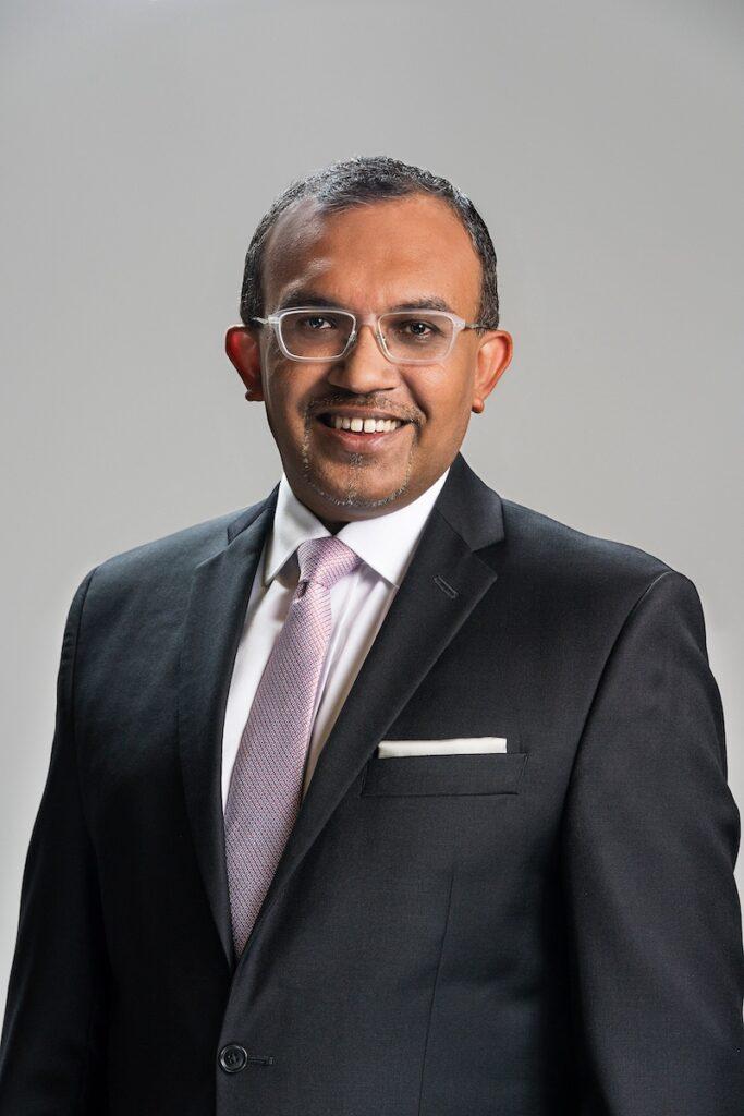 Infocomm Media Development Authority Deputy Chief Executive Kiren Kumar says this initiative will greatly benefit global trade. Image credit: IMDA