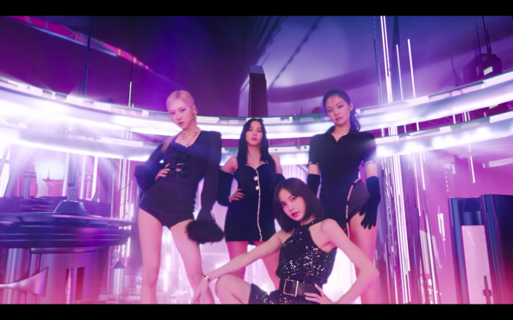 Spotify has tapped Dua Lipa, Bad Bunny, BLACKPINK, Travis Scott, and Billie Eilish to unveil the new look for its Today's Top Hits flagship playlist. Image credit: Screenshot of Spotify video on YouTube