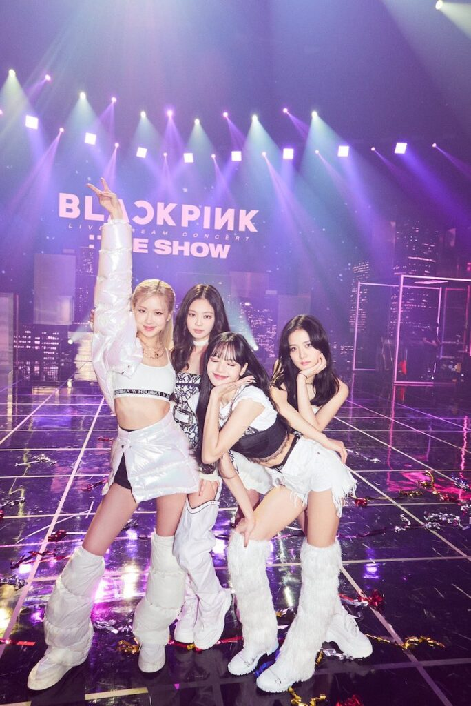 """As part of the """"4+1 Project"""" to celebrate the fifth anniversary of BLACKPINK's debut on Aug. 8, """"BLACKPINK THE MOVIE"""" will premiere this August in South Korea and in 100 countries. Image credit: YG Entertainment"""