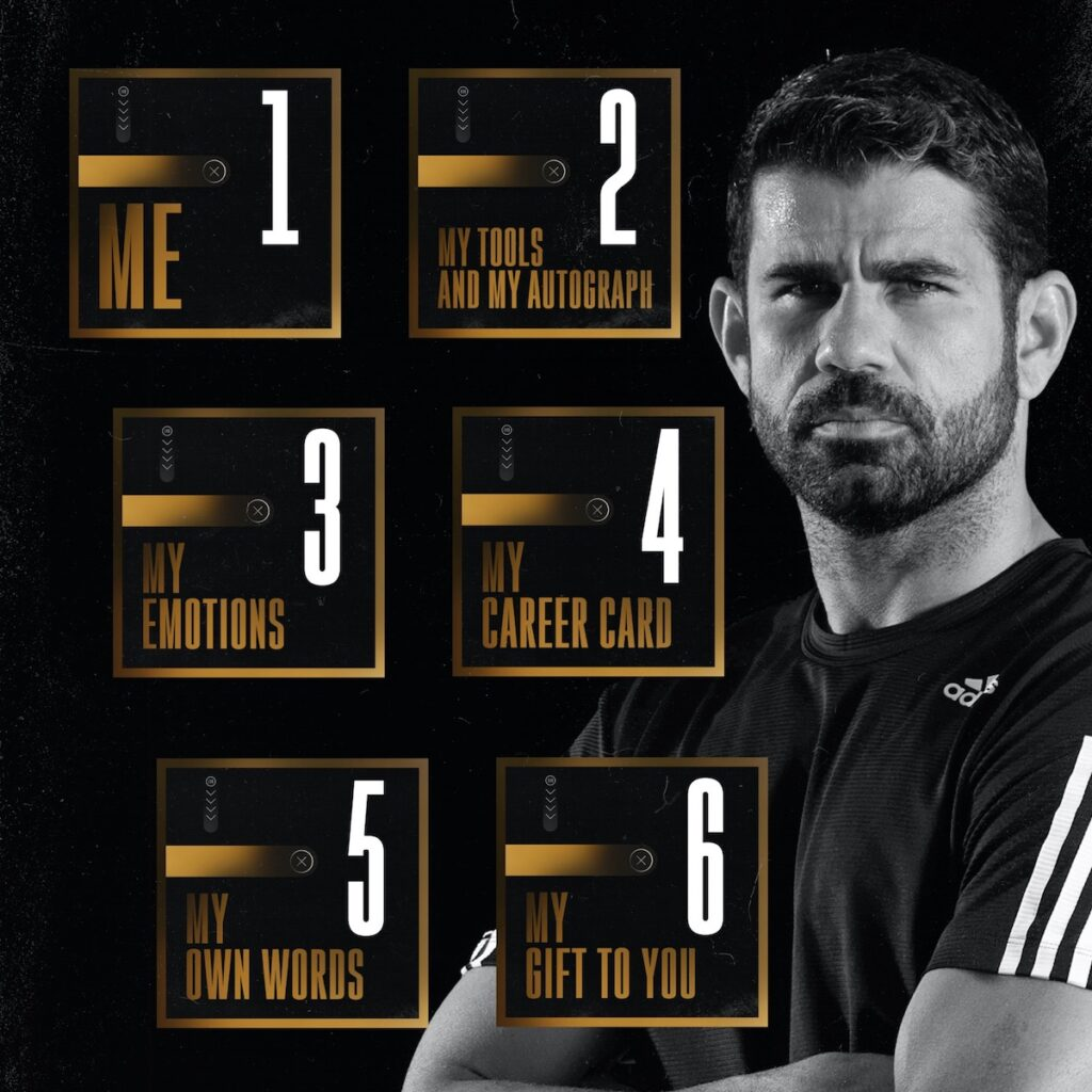 Diego Costa is one of the global football champions featured in this NFT collection. Image credit: Zilliqa