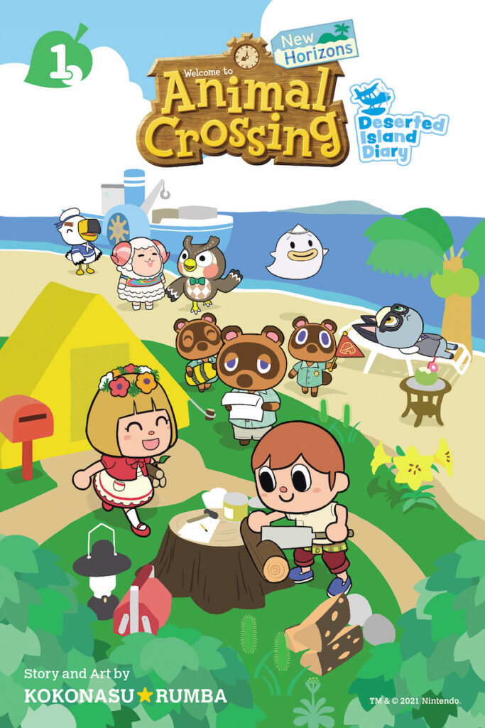 Can you believe it has already been 20 years since Nintendo originally released Animal Crossing in Japan for the Nintendo 64 console on April 14, 2001? Image credit: VIZ Media TM & © 2021 Nintendo. ATSUMARE DOBUTSU NO MORI - MUJINTO DIARY - © 2020 KOKONASU☆RUMBA/SHOGAKUKAN