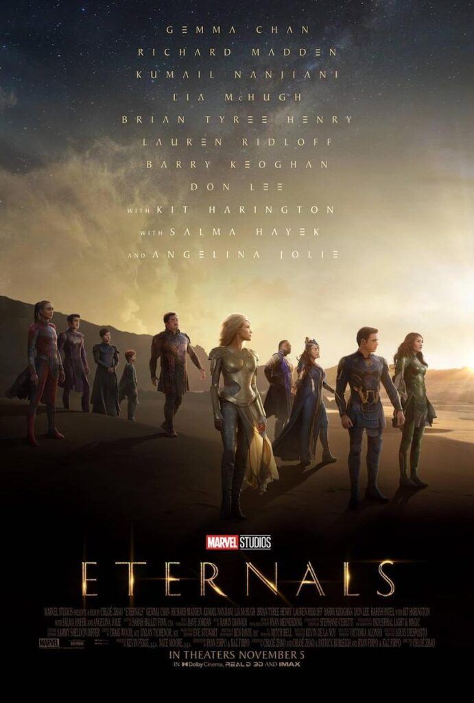 """""""Eternals"""" is coming out on Nov. 5. Image credit: Marvel Studios"""