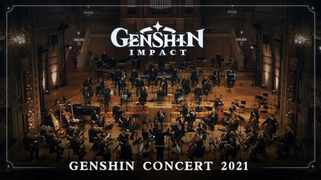 Genshin Impact, the popular action role-playing game from Shanghai-based miHoYo, will host its first global online concert on Oct. 3. Image credit: miHoYo