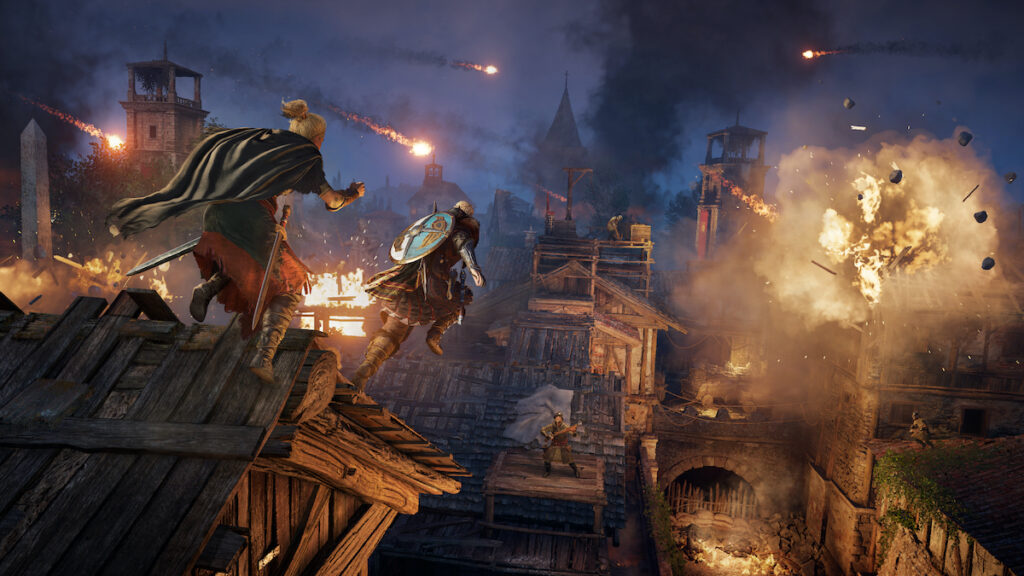 The Siege of Paris takes place in Francia. Image credit: Ubisoft