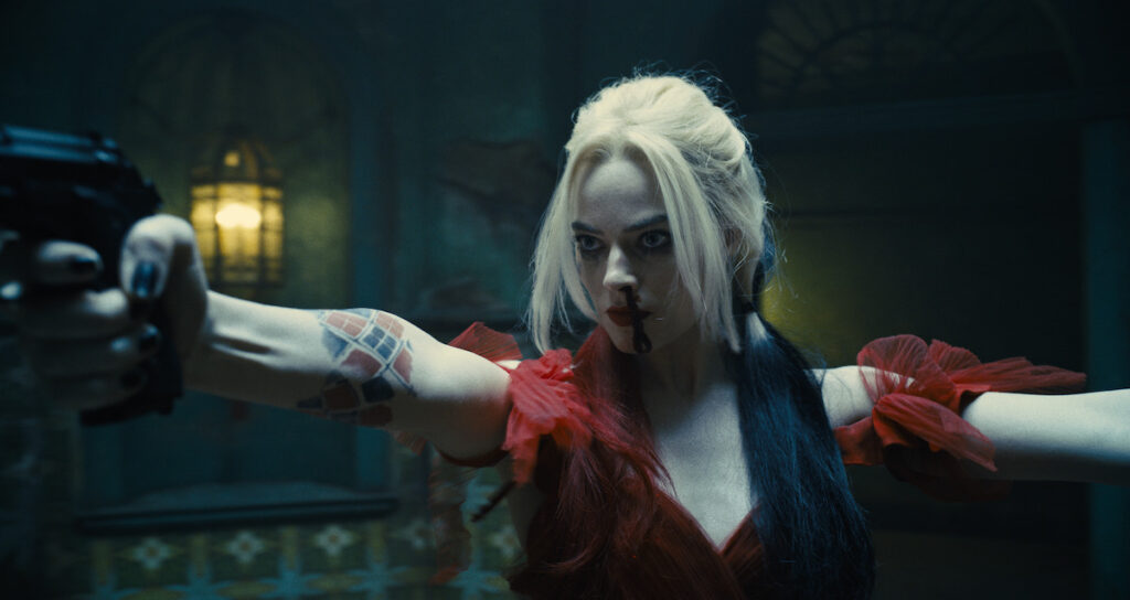 The Suicide Squad: Stay away from Juliet. Margot Robbie as Harley Quinn. Image credit: Warner Bros. Pictures & DC Comics