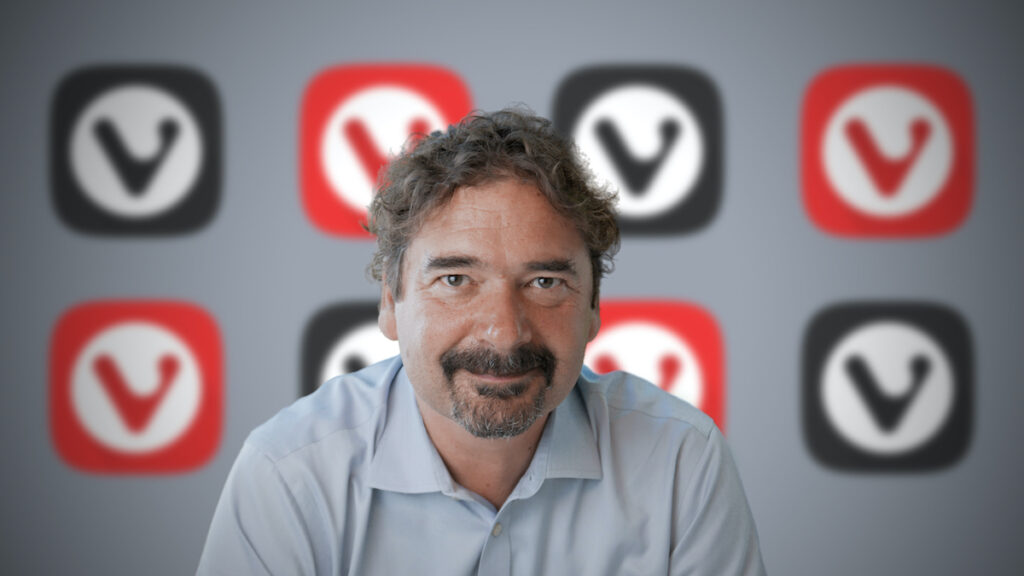 Vivaldi Technologies Founder and CEO Jon von Tetzchner says Big Tech should not force people to choose between privacy and convenience. Image credit: Vivaldi Technologies