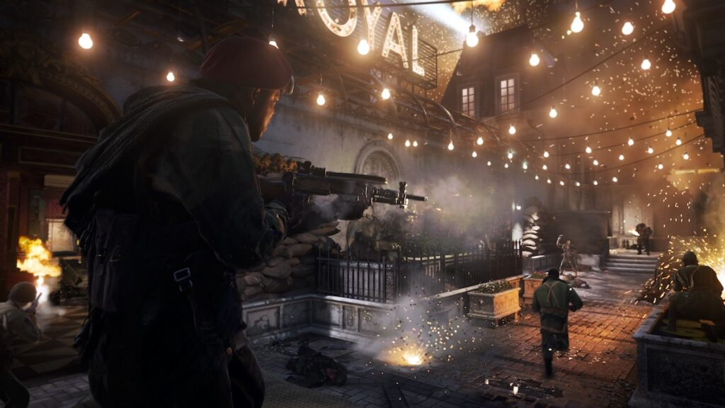 The all-platforms early access multiplayer beta for Call of Duty: Vanguard will go live this weekend and will be available for crossplay. Image credit: Activision