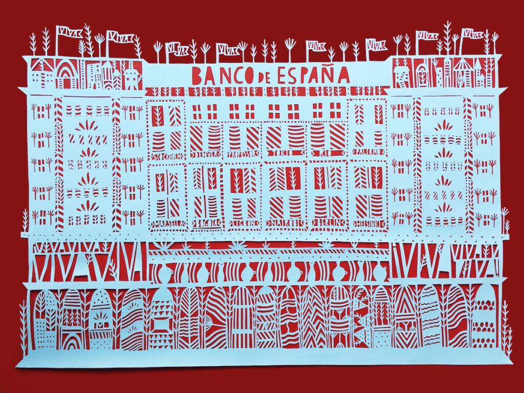 Bank of Spain. Image credit: Netflix / Mansy Abesamis