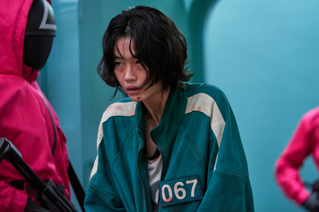Jung Ho-yeon makes her acting debut in 'Squid Game'. Image credit: Netflix