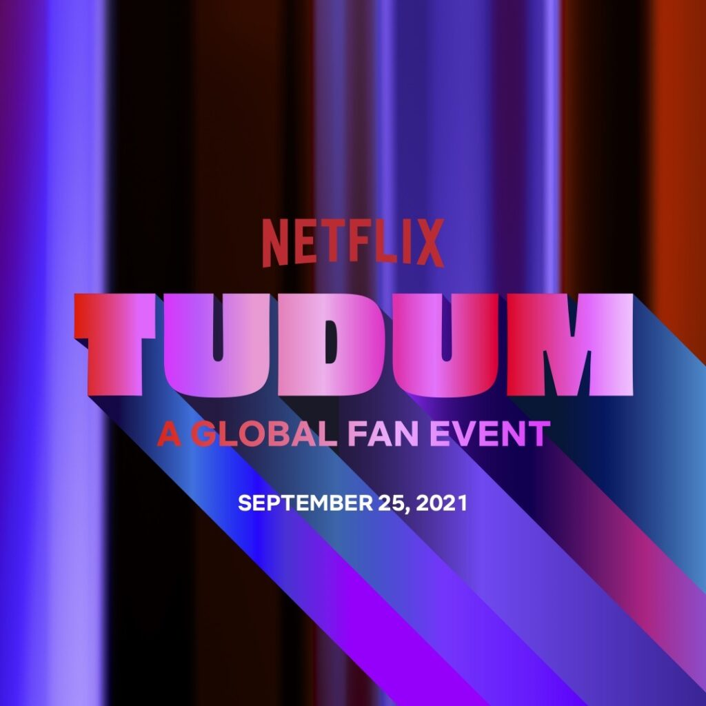 The stars are coming out tonight for the three-hour TUDUM: A Netflix Global Fan Event live stream, with more than 145 celebrities and creators representing over 100 series, films, and specials. Image credit: Netflix