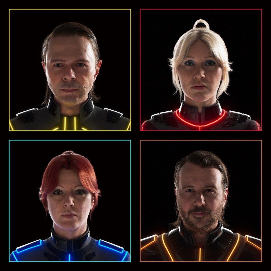 The ABBAtars. Image credit: ABBA