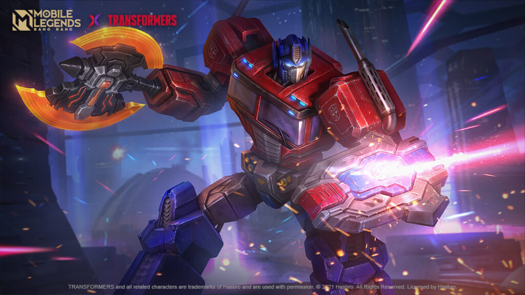 In a collaboration that is definitely more than meets the eye, the legendary Transformers have landed in Mobile Legends: Bang Bang. IImage credit: Hasbro/Moonton