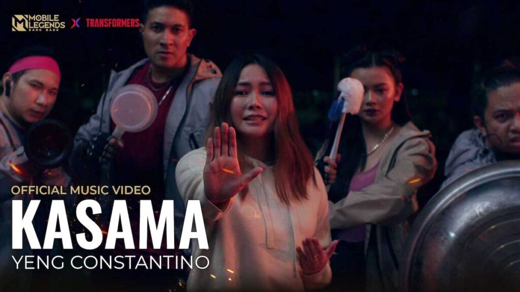 Filipino singer, actress, and Mobile Legends: Bang Bang (MLBB) streamer Yeng Constantino has released a music video celebrating the MLBB collaboration with the Transformers. Image credit: Moonton